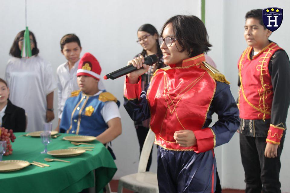 Representación de la Independencia de México 2019