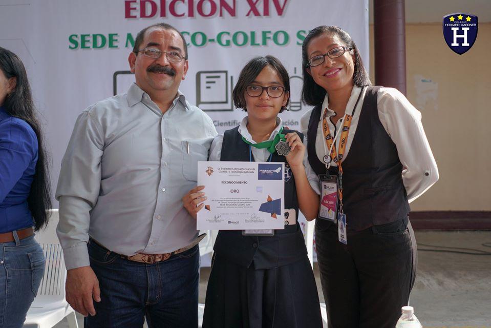 Muchas felicidades a nuestra alumna Beatríz De La Cruz por el oro y pase a la final Continental del Proyecto Multimedia SOLACYT