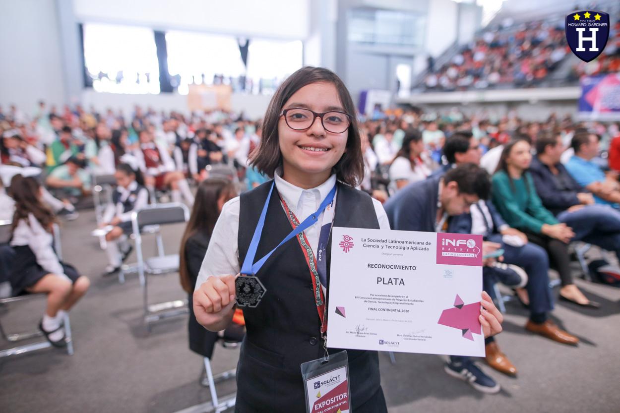 2º Lugar Concurso INFOMATRIX Latinoamericano de Proyectos Estudiantiles de Ciencia, Tecnología y Emprendimiento en la etapa Intercontinental